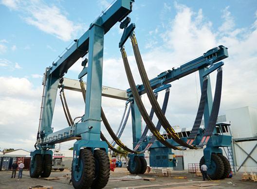 high quality 500 ton travel lift